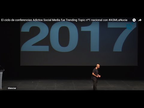 El ciclo de conferencias Adictos Social Media fue Trending Topic nº1 nacional con #ASMLaNucia