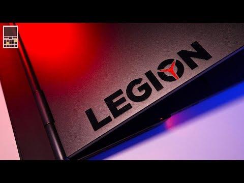 Legion Y740 - Самый необычный игровой ноутбук Lenovo