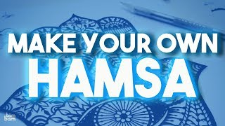 Learn How to Make a Paper Hamsa: Jewish DIY Crafts for Kids