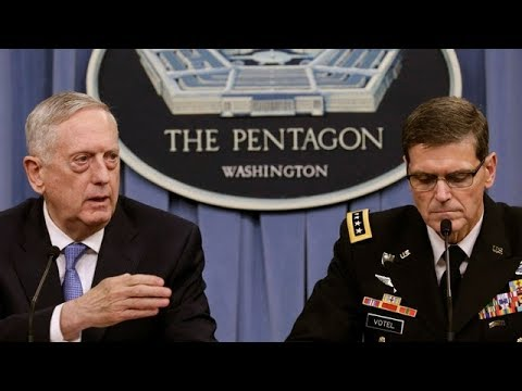 Pentagon briefing on operations in Syria