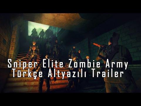 Sniper Elite Zombie Army Trailer'ı (Türkçe Altyazılı)