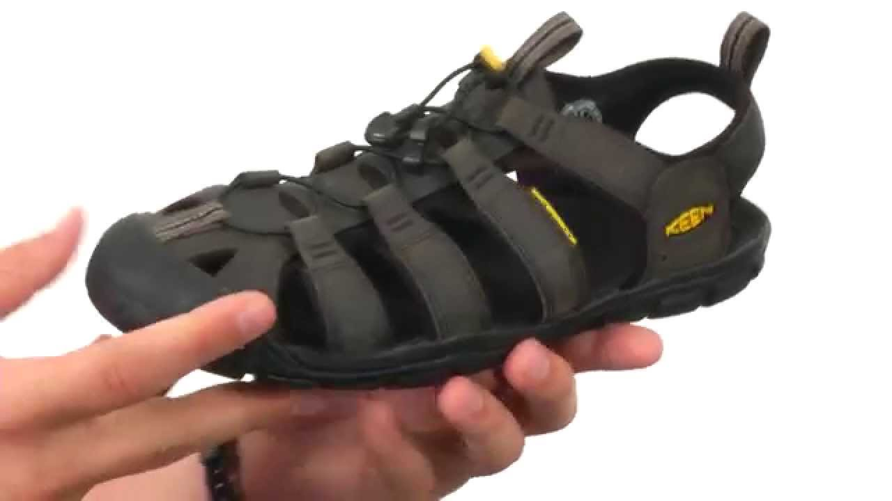 4953d25a6bf Keen Clearwater CNX Leather SKU 8475680 - YouTube