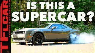 2019 Dodge Challenger Redeye Is The Muscle (No) Supercar Bargain Of The Century!