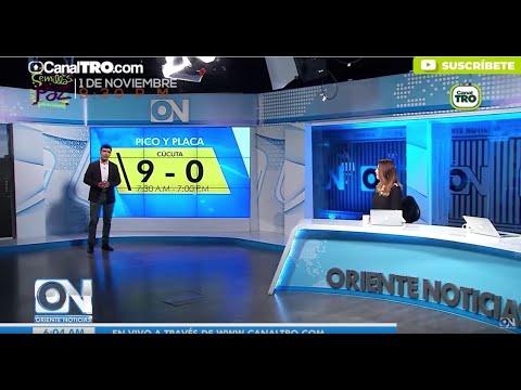 Oriente Noticias primera emisión 1 de Noviembre