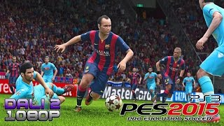PES 2015 PS3 Gameplay 1080p
