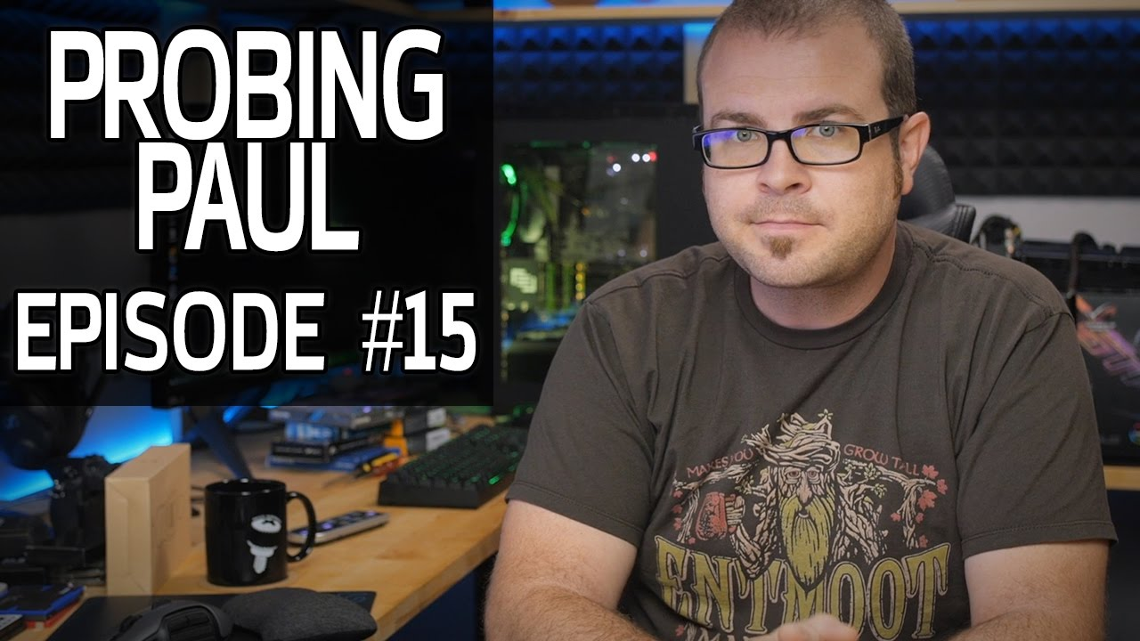Ultrawide or 4K for Gaming? - Probing Paul #15