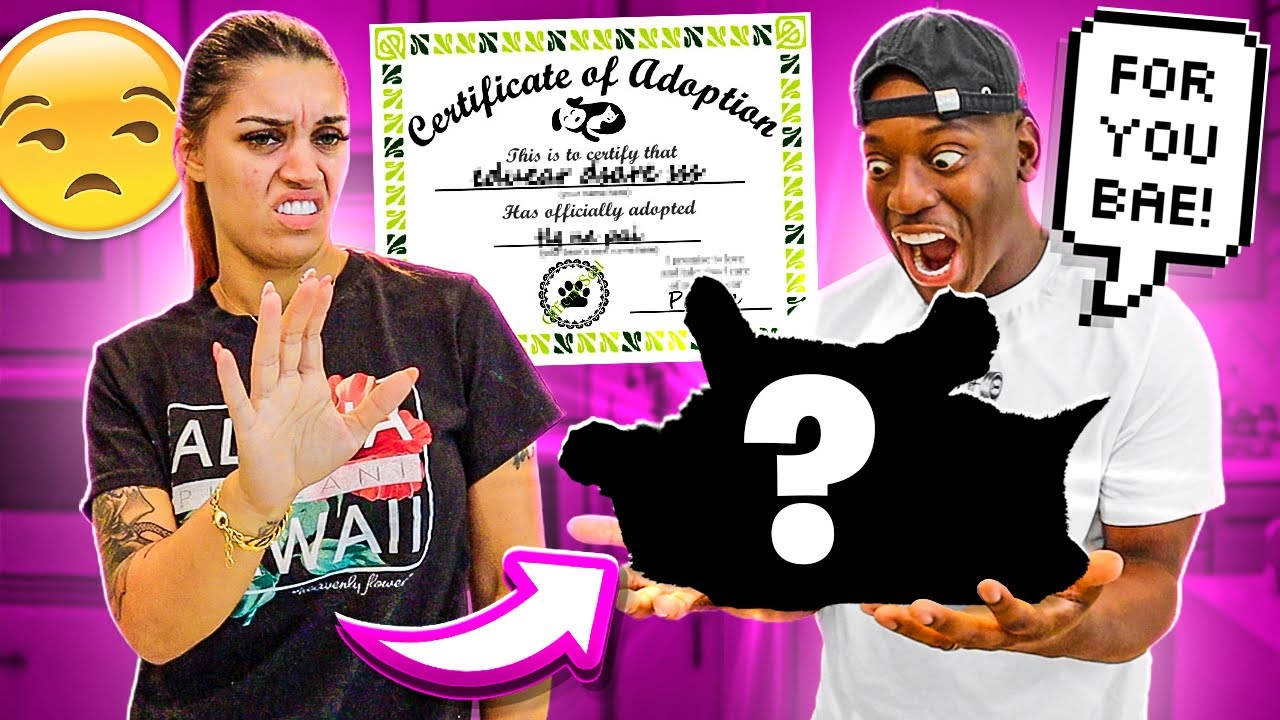 Download SURPRISING MY WIFE WITH A NEW PET **SHE DON'T LIKE IT**