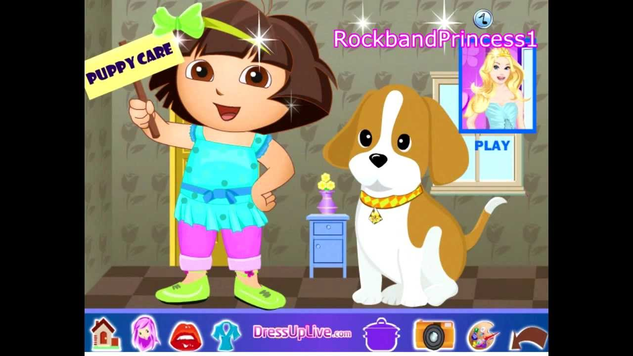 Dora The Explorer Pet Games Dora The Explorer Pet Shop