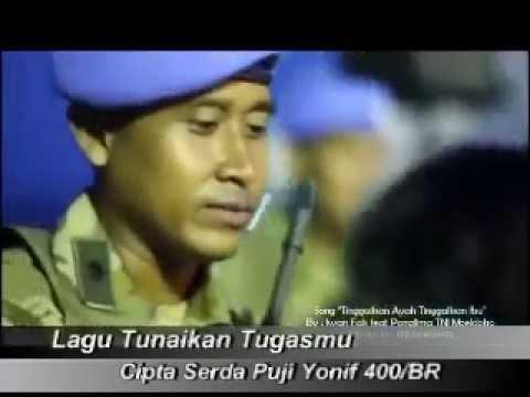 Lagu Tunaikan Tugasmu lambang keteguhan Hati  Isteri  Prajurit Cipta Serda Puji Yonif 400/R