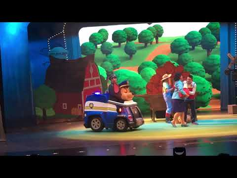 Paw patrol Live 2017 was awesome