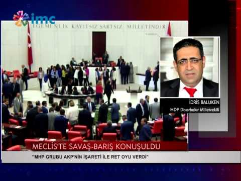 Baluken: MHP AKP'nin işaretiyle reddetti