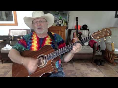 1890  - Tempted  - Marty Stuart vocal & acoustic guitar cover & chords