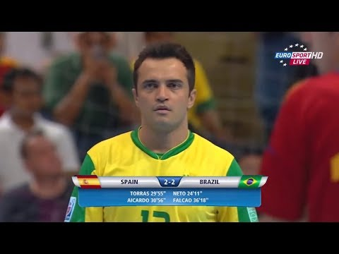 Falcão vs Espanha ● Final da Copa do Mundo de Futsal 2012