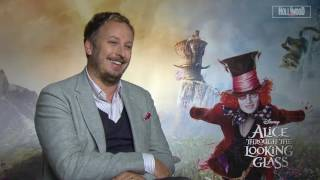 James Bobin Exclusive Interview ALICE THROUGH THE LOOKING GLASS (HD)