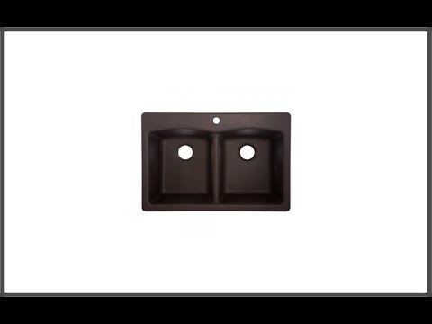 franke ellipse 33 dual mount granite double bowl kitchen sink review