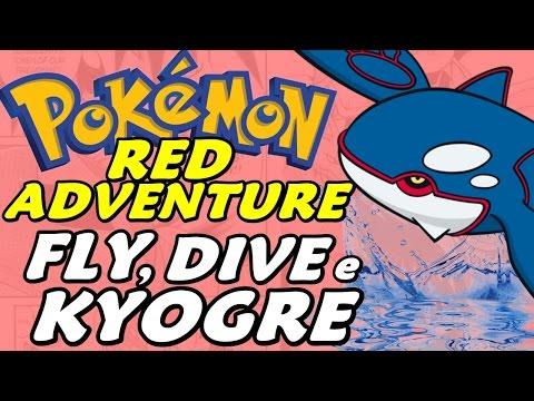 Pokémon Adventure Red Chapter (Detonado - Parte 28) - HM Fly, Dive e Kyogre
