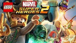 LEGO Marvel Super Heroes 2 Прохождение - МСТИТЕЛИ - 5 серия. Мультики лего