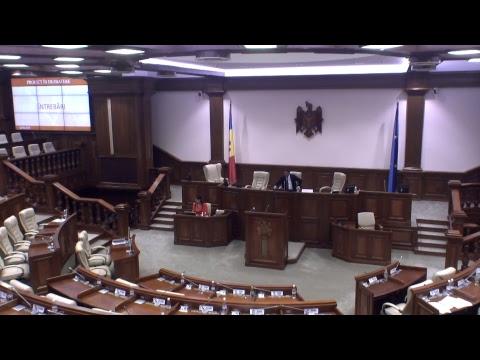 Şedinţa Parlamentului Republicii Moldova 12.05.2017