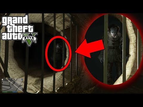 I found PENNYWISE from IT in GTA 5 (Do NOT Try This Yourself) GTA 5 Myths & Legends