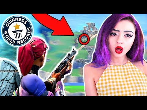 Is this the LONGEST Hunting Rifle SHOT in Fortnite ?!