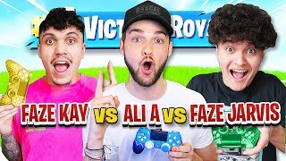 """Most Wins Gets $50,000"" (FaZe Jarvis Vs Ali-A Vs FaZe Kay)"