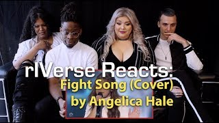 rIVerse Reacts: Fight Song (Cover) by Angelica Hale - AGT Golden Buzzer Performance Reaction