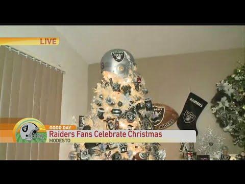 5080ec43 Raider Fan Christmas Tree - YouTube