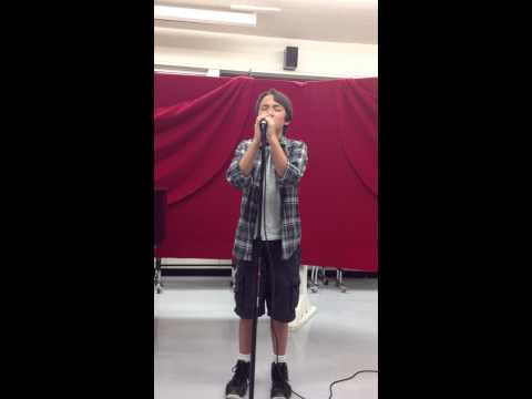 "10 year old Zack Brown sings ""Let It Be"""