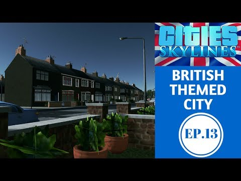 Cities Skylines British Themed EP.13 Farmdale town Part 1