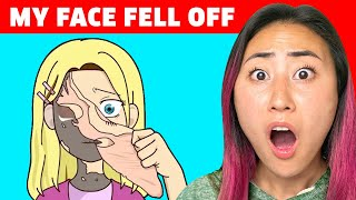 MY FACE FELL OFF (ANIMATED STORY TIME)