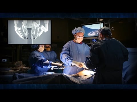 Watch doctor perform robotic-assisted surgery in Syracuse, NY