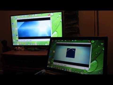 Amazon Fire TV Stick - Win8 Demo Display Mirroring Slow Video Miracast Playback