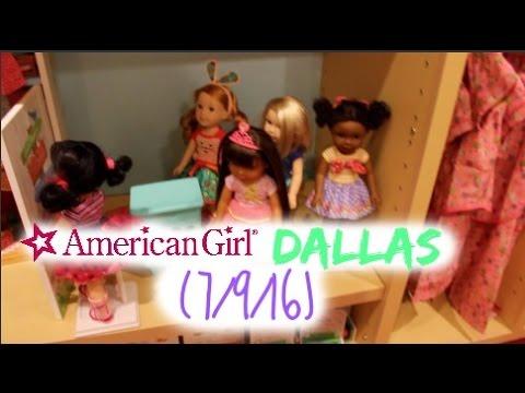 American Girl Store Dallas-WELLIE WISHERS! (7/9/16)