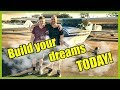 Why you need to start building the life of your dreams right now