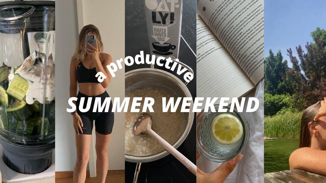 getting stuff done, book talk, working out, friends, new recipes, ... II Marieke Emilia