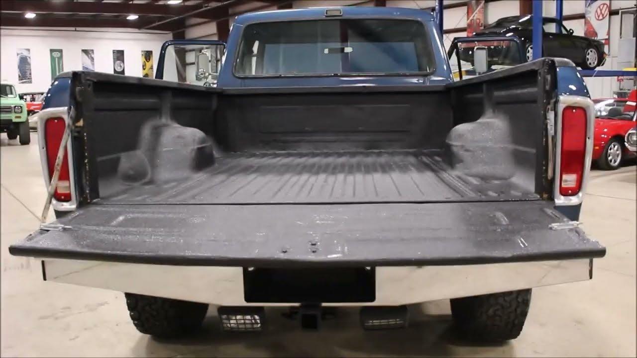 1979 ford f250 blue