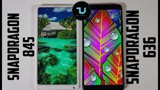 Snapdragon 845 vs 636 Speed test! Xiaomi Mi Mix 2s vs Redmi Note 5 Comparison