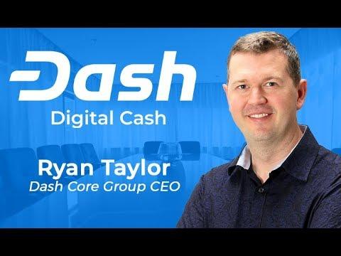 Dash Podcast 59 - AMA Ryan Taylor Dash Core Group CEO