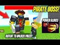 I DEFEATED THE PIRATE BOSS AND GOT THE POWER GLOVES IN PIRATE SIMULATOR Roblox mp3