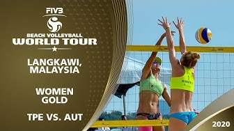 LIVE 🔴 - Women's Gold Medal | 1* Langkawi (MAS) - 2020 FIVB Beach Volleyball World Tour