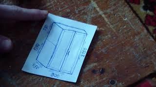 Шкаф из дерева своими руками: видео, фото, чертежи