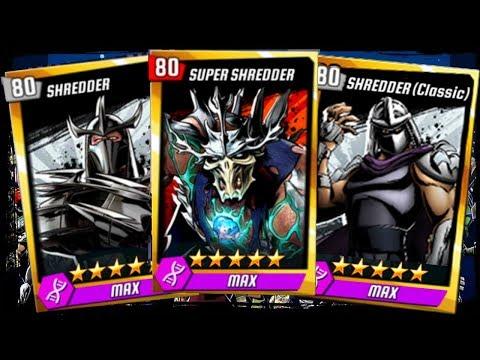 ALL SHREDDERS - Super, Nickelodeon, Classic Update X Teenage Mutant Ninja Turtles Legends Episode #6