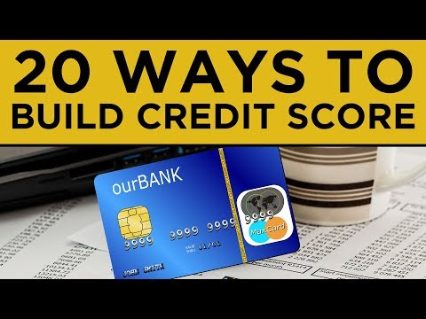 20 Best Ways to Build Good Credit Score Fast in 2020