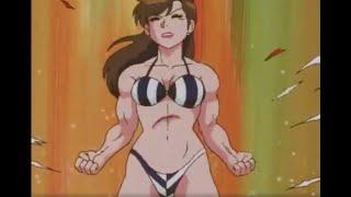 [のらくろクン] Norakuro Kun (1987 – 1988) - Episode 44 - [Female Muscle Growth] Matsumoto Chigusa buffs up!