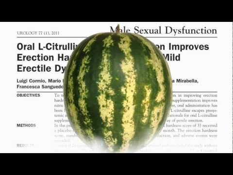Watermelon vs. Viagra? Sexual Treatment Science Reveals New Information