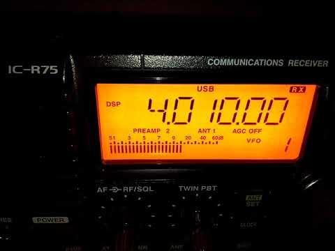 Kyrgyzstan Birinchi Radio 26/ 9 /17 on 4010 UTC @ 17:40 UTC