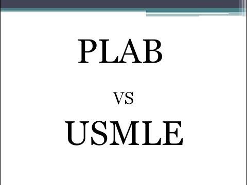 PLAB vs USMLE
