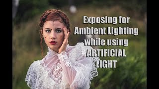 Exposing for Ambient Lighting while using Artificial Light and Off Camera HSS Flash- Rotolight Neo 2