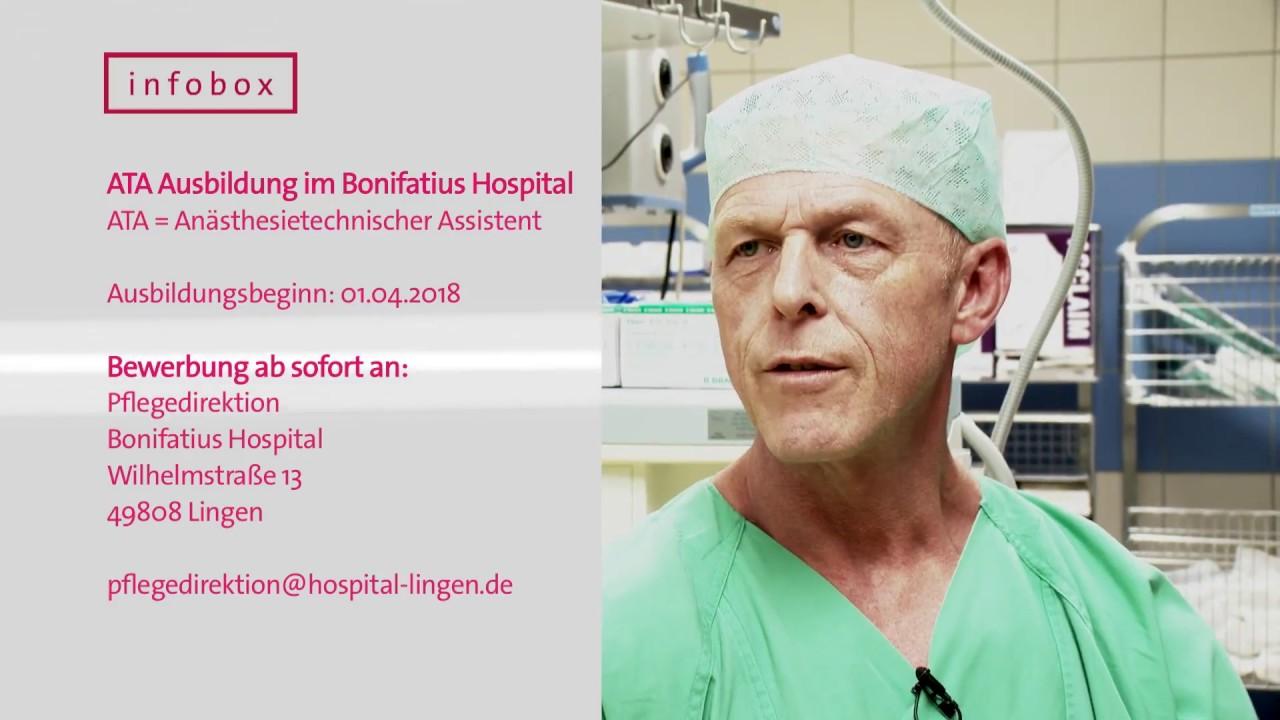 Ausbildung zum Anästhesietechnischen Assistenten im Bonifatius ...