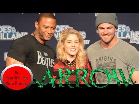 Heroes & Villains  Fest San Jose 2017: Arrow Panel